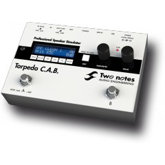 TWO NOTES  - HARDWARE / TORPEDO / SIMULATEUR DE HP FORMAT PEDALE