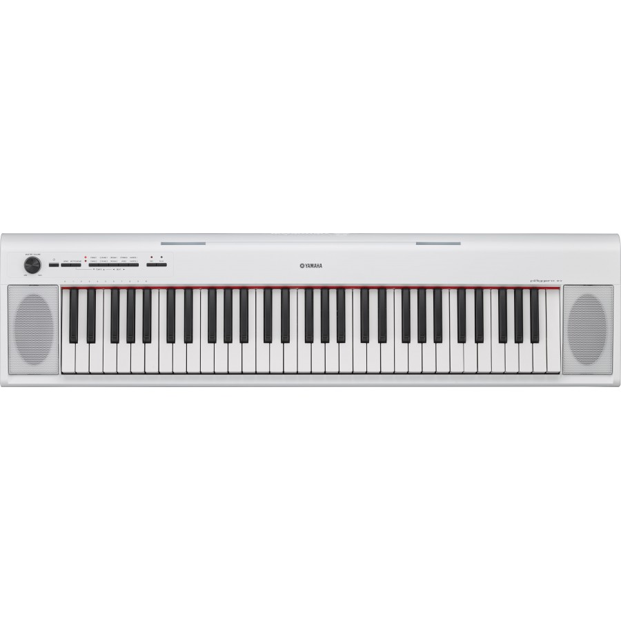 steel music yamaha np 12 piaggero clavier blanc. Black Bedroom Furniture Sets. Home Design Ideas
