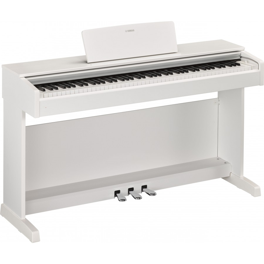 steel music yamaha arius ydp 143 blanc mat piano numerique. Black Bedroom Furniture Sets. Home Design Ideas