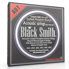 JEU BLACK SMITH ACOUSTIQUE 12-53 COATED