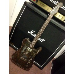 JAMES TRUSSART GUITARS - STEELCASTER 52 MAPLE NECK AND FINGERBOARD   ARCANE INC. TELE BRIDGE AND ULTRATRON NECK PICKUPS