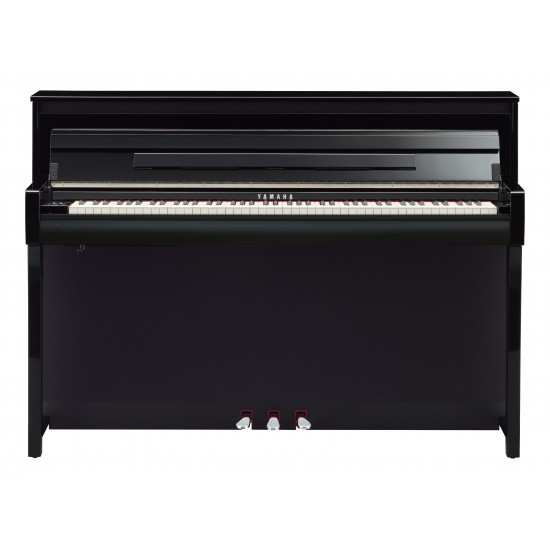 steel music yamaha clavinova clp 685 noir laque piano. Black Bedroom Furniture Sets. Home Design Ideas