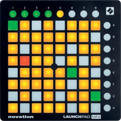 NOVATION - NOVATION SURFACE DE CONTROLE LAUCH MATRICE 8X8 PADS RGB
