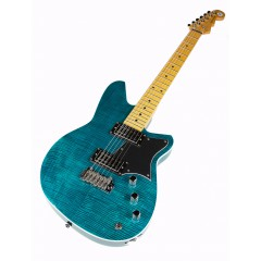 REVEREND KING BOLT RA FM TURQUOISE FLAME MAPLE