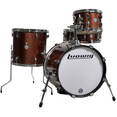 LUDWIG - KIT LUDWIG BREAKBEATS QUESTLOVE BORDEAUX