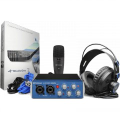 PRESONUS - PACKS AUDIOBOX INTERFACE AUDIOBOX96+MICRO+CASQUE