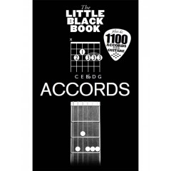 LITTLE BLACK BOOK ACCORDS GUITARE