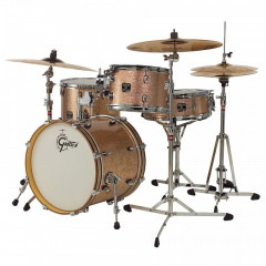 GRETSCH - KIT 4 FUTS CATALINA MAPLE SILVER SPARKLE 18/12/14FT/14X5 LIMITED EDITION CM1-J484-SS