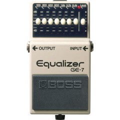 BOSS - 7-BANDS EQUALIZER