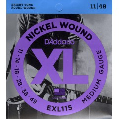 D'ADDARIO - JAZZ-ROCK 11-14-18-28-38-49