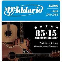 D'ADDARIO - JEU ASCOUTIC 85/15  LIGHT