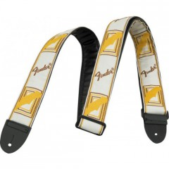 WHITE/BROWN/YELLOW MONO STRAP