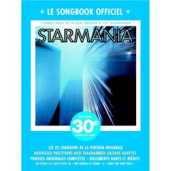 STARMANIA LE SONGBOOK OFFICIEL P/V/G