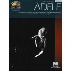 PIANO PLAY-ALONG V.118 ADELE + CD
