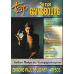 TOP SERGE GAINSBOURG P/V/G