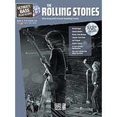 ULTIMATE BASS PLAY-ALONG ROLLING STONES + CDS
