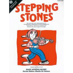 STEPPING STONES VIOLON + CD