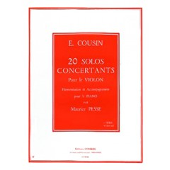 20 SOLOS CONCERTANTS V.1 N°1 A 10 VIOLON