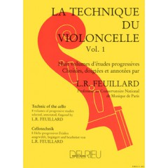 TECHNIQUE DU VIOLONCELLE V.1