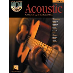 GUITAR PLAY-ALONG V.2 ACOUSTIC + CD