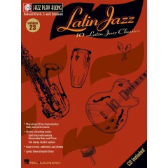JAZZ PLAY-ALONG VOL.023 LATIN JAZZ + CD
