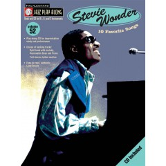 JAZZ PLAY-ALONG VOL.052 STEVIE WONDER + CD