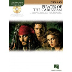 PIRATES OF THE CARIBBEAN VIOLONCELLE + CD