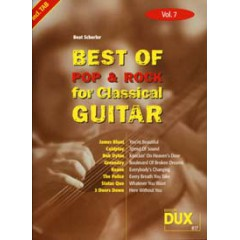 BEST OF POP & ROCK FOR CLASSICAL GUITAR V.7