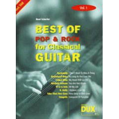 BEST OF POP & ROCK FOR CLASSICAL GUITAR V.1