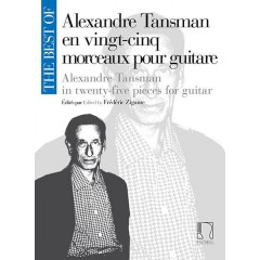 THE BEST OF ALEXANDRE TANSMAN GUITARE
