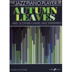 JAZZ PIANO PLAYER AUTUMN LEAVES... + CD