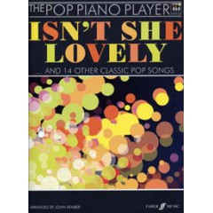POP PIANO PLAYER ISN'T SHE LOVELY... + CD