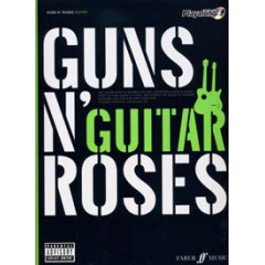 AUTHENTIC GUITAR PLAYALONG GUNS N' ROSES + CD