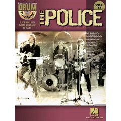 DRUM PLAY-ALONG V.12 THE POLICE + CD