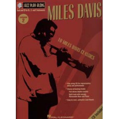 JAZZ PLAY-ALONG VOL.002 MILES DAVIS + CD