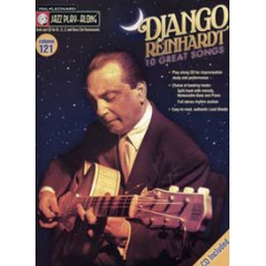 JAZZ PLAY ALONG VOL.121 DJANGO REINHARDT + CD