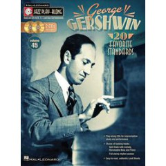 JAZZ PLAY-ALONG VOL.045 GEORGES GERSHWIN + CDS