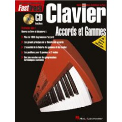 FASTTRACK - CLAVIER ACCORDS ET GAMMES + CD