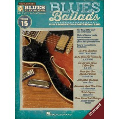 BLUES PLAY-ALONG VOL.15 : BLUES BALLADS + CD