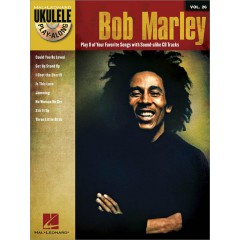 UKULELE PLAY-ALONG V.26 BOB MARLEY + CD