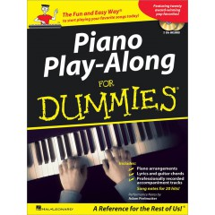 PIANO PLAY-ALONG FOR DUMMIES + 2 CDS