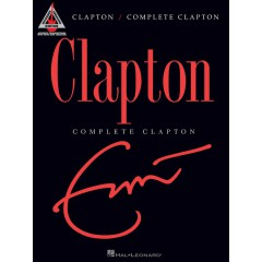 CLAPTON COMPLETE GUITAR RECORDED VERSION TAB