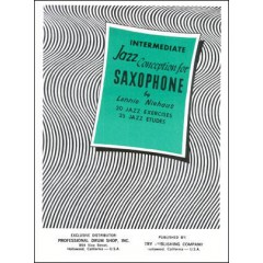 INTERMEDIATE JAZZ CONCEPTION FOR SAXOPHONE + CD
