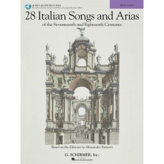 28 ITALIAN SONGS AND ARIAS OF THE 17TH AND 18TH CENTURIES HIGH VOICE + CD