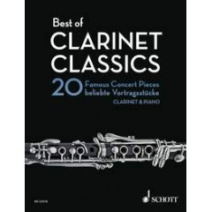 BEST OF CLARINET CLASSICS AVEC ACCOMPAGNEMENT PIANO
