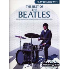PLAY DRUMS WITH BEATLES LIVRET  + 2 CDs