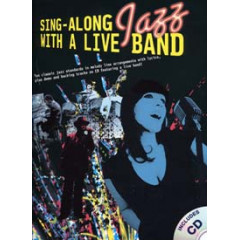SING ALONG JAZZ WITH A LIVE BAND LIVRET + CD