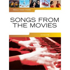 REALLY EASY PIANO SONGS FROM THE MOVIE