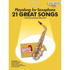 GUEST SPOT 21 GREAT SONGS SAXO ALTO + AUDIO TELECHARGEABLE