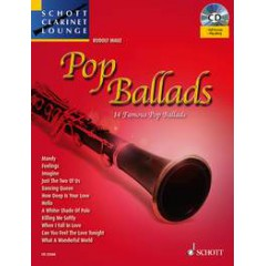 POP BALLADS CLARINETTE + CD